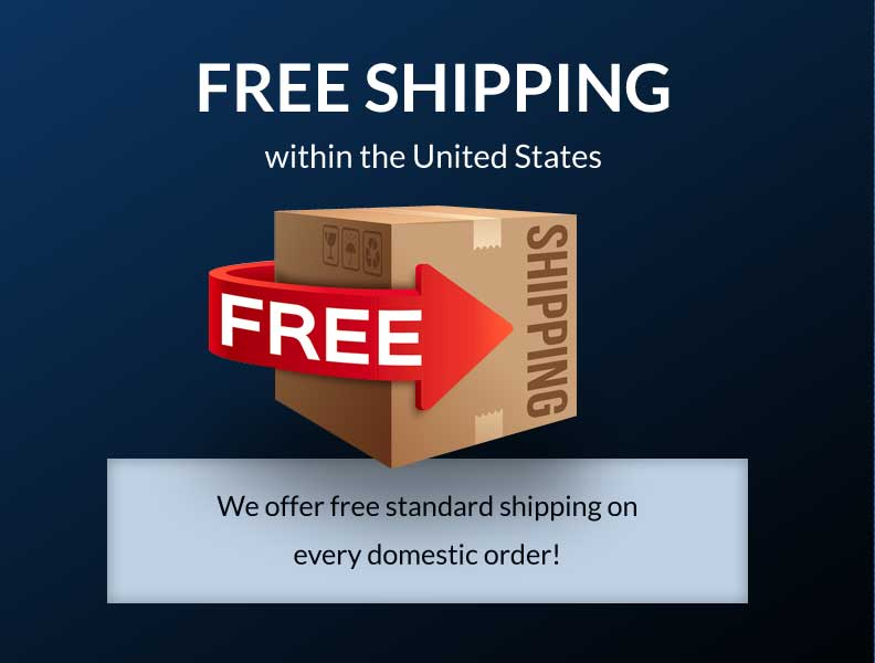 Free Standard Shipping within the United States