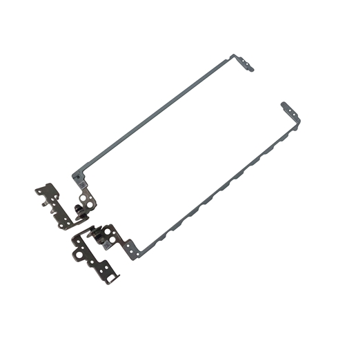 15-BW 15Z-BW Laptop Hinge Cap Cover 15T-BS Wikiparts* New Screen Hinges Set With Silver Hinge Cover Replacement for HP 15-BS