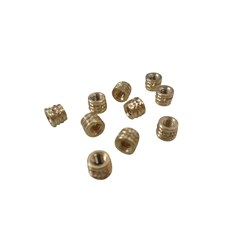 10X M2.5 Threaded Brass Screw Inserts for Laptop Cover Part Repair