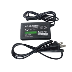 Ac Power Adapter Charger & Cord for Sony PSP 1000 2000 3000 - Replaces PSP-100