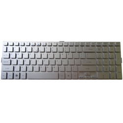 New Acer Aspire 5943 5943G 8943 8943G 8950 8950G Silver Laptop Keyboard