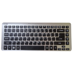 New Acer Aspire V5-431 V5-471 Ultrabook Laptop Keyboard w/ Silver Frame