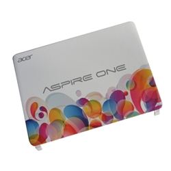 New Acer Aspire One D270 Balloon White Lcd Back Cover 60.SGAN7.023