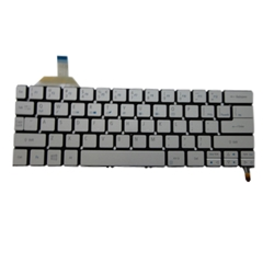 Genuine Acer Aspire S7-392 Silver Backlit Laptop Keyboard NK.I1113.02L