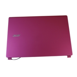 New Acer Aspire V5-472 V5-473 Pink Lcd Back Cover - Non-Touchscreen