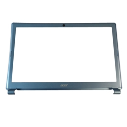 "New Acer Aspire V5-531 V5-571 Laptop Blue Lcd Front Bezel 15.6"" Non-Touchscreen"