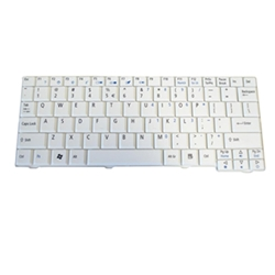 New Acer Aspire One A110 A150 ZG5 D150 D250 Series White Keyboard