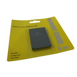 New 8MB Memory Card for Sony PlayStation 2 PS2 Consoles - Replaces SCPH-10030