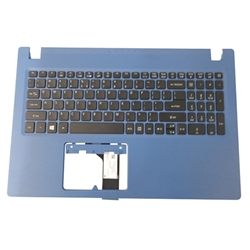 Acer Aspire A315-31 A315-51 Blue Palmrest & US Keyboard 6B.GR4N7.028