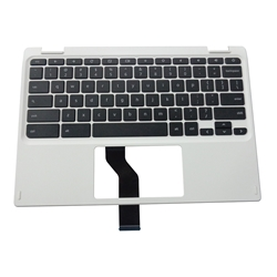 Acer Chromebook CB3-132 White Palmrest & Keyboard 6B.G4XN7.017