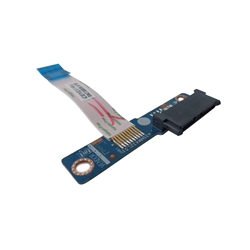 HP 15-AY 15-BA DVD Optical Drive Connector Board w/ Cable 855007-001