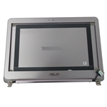 Asus Zenbook UX305F Silver Lcd Back Cover w/ Bezel Hinges & Cables
