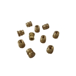 10X M2 Threaded Brass Screw Inserts for Laptop Cover Part Repair