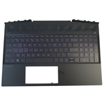 HP Pavilion 15-DK 15T-DK Palmrest w/ Backlit Keyboard L57596-001