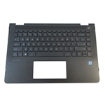 HP Pavilion 14-BA 14M-BA Palmrest w/ Backlit Keyboard 924117-001