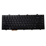 Backlit Keyboard for Dell Studio 14Z 1440 Laptops - Replaces N737M