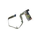 Gateway NE572 Laptop Power Button Board & Cable