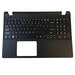 Acer Aspire E 15 ES1-512 Black Upper Case Palmrest & Keyboard