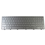 Silver Backlit Keyboard for Dell Inspiron 15 (7537) Laptops