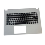 Acer Aspire E5-422 E5-432 E5-473 White Upper Case Palmrest & Keyboard
