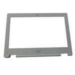 New Acer Chromebook CB3-131 Laptop White Lcd Front Bezel 60.G85N7.002