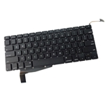 "Laptop Keyboard for 2008 Apple MacBook Pro Unibody 15"" A1286"