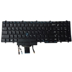 Backlit Keyboard w/ Pointer & Buttons for Dell Latitude E5550 E5570