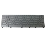 Silver Backlit Keyboard for Dell Inspiron 17 (7737) (7746) Laptops