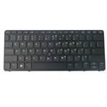 Backlit Keyboard w/ Pointer for HP EliteBook 720 G1 720 G2 725 G2