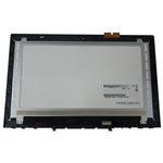 "Lenovo Y50-70 Lcd Touch Screen Digitizer & Bezel 15.6"" FHD 1920x1080"