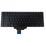 Black Backlit Keyboard for HP Omen 15-5000 Laptops - No Frame
