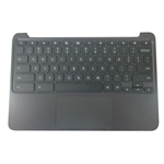 Genuine HP Chromebook 11 G5 EE Palmrest Keyboard & Touchpad 917442-001