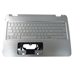 Genuine HP ENVY 15-U 15T-U Silver Palmrest & Keyboard 812879-001