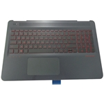 Genuine HP Omen 15-AX Palmrest, Backlit Keyboard & Touchpad 859735-001