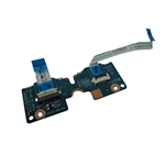 Laptop Touchpad Button Board w/ Cables for HP 15-AY 15-BA 855011-001