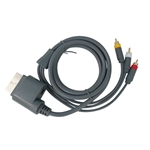 HD Component Composite Audio Video AV Cable for XBOX 360