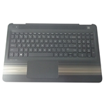 HP Pavilion 15-AU 15-AW Palmrest Keyboard & Touchpad 856040-001