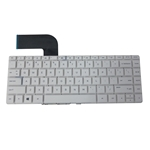 Keyboard for HP Pavilion 14-V 14T-V 14Z-V Laptops - White Version