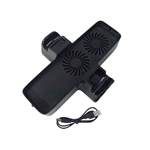 USB Powered Dual Cooling Fan Base Stand for Microsoft XBOX 360 Slim
