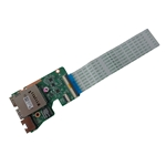 Genuine HP Pavilion 17-G 17Z-G USB Audio Board w/ Cable 809927-001