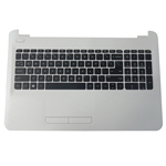 Genuine HP 15-AC 15T-AC 15-AF Palmrest Keyboard & Touchpad 813976-001