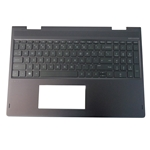 Genuine HP ENVY X360 15-BQ Palmrest w/ Backlit Keyboard 924335-001
