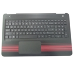 HP Pavilion 15-AU 15-AW Palmrest w/ Keyboard & Touchpad 856041-001