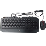 Acer Predator Wired USB Keyboard & Mouse Set DKUSB1B0B7 DC1121101Q