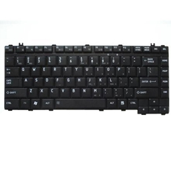 Toshiba Satellite A200 A205 A210 A300 M200 L200 L300 Black Keyboard